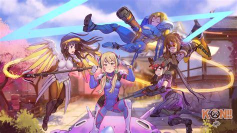 Overwatch Anime Wallpaper - pharah overwatch anime anime k on