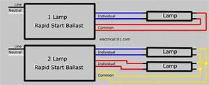 Instant Start Ballast Wiring Diagram