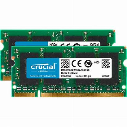 Ddr2 4gb Sodimm Memory Crucial Dimm Pc2