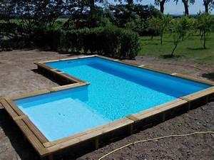 Grande Piscine Hors Sol : grande piscine en bois piscine hors sol bois id es et ~ Premium-room.com Idées de Décoration