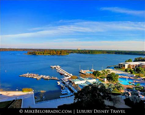 Bay Lake Boat Launch by Mike Belobradic Disney S Contemporary Resort At Walt