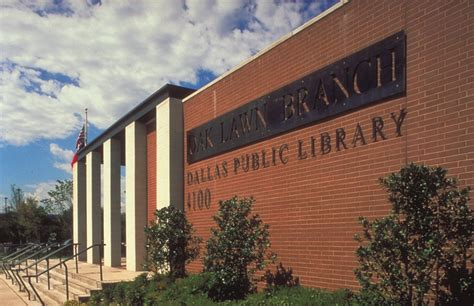 dallas public library oak lawn branch gff