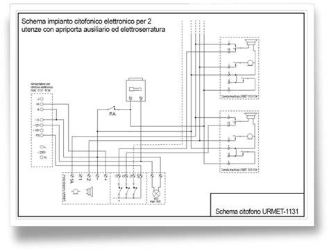 giuseppe marchetta impianto citofono urmet mod 1131