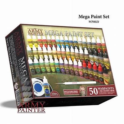 Paint Painter Army Sets Mega Warpaints 1280