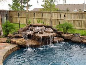 Best 25+ Pool Waterfall ideas on Pinterest Pool fountain