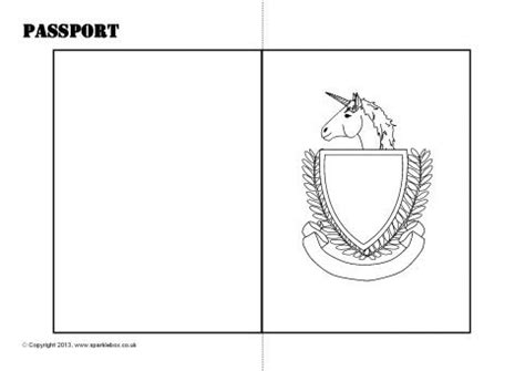 editable passport template editable passport writing frame template sb9562 sparklebox