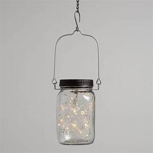 Firefly, Solar, Led, Mason, Jar, Lantern