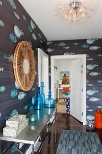 Wandgestaltung Mit Tapeten : sch ne tapeten mit fischen 21 vorschl ge ~ Lizthompson.info Haus und Dekorationen
