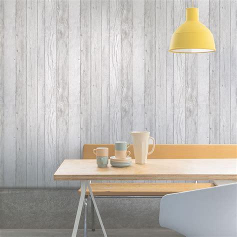 ideco home grey wood panel wallpaper departments diy