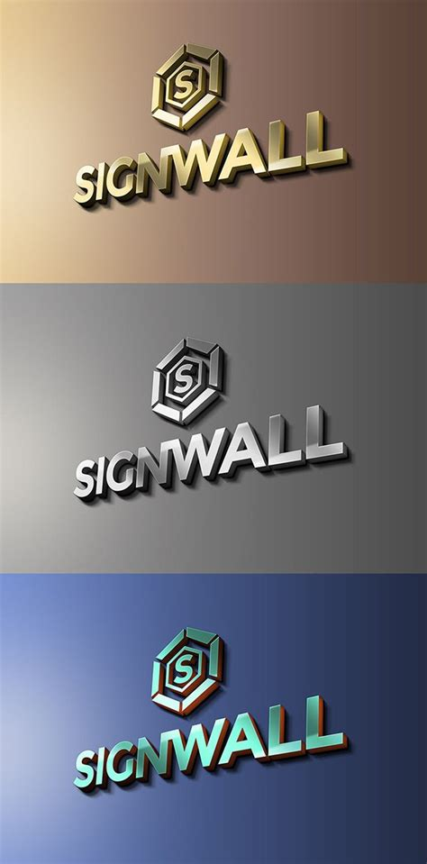 3d Wall Logo Mockup Template Free by 80 Free Logo Psd Mock Up Templates Fusionplate