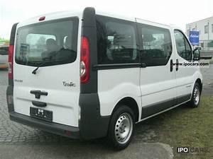 2009 Renault Trafic 2 0 Dci 115 Passenger L1h1 8