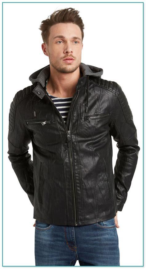 tom tailor denim leather jacket