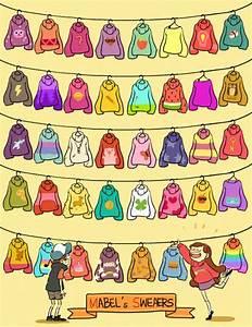 Mabel Sweaters Gravity Falls