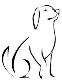 Pin by Franklin Leest on Cnc projects | Dog drawing simple, Dog tattoos, Minimalist drawing
