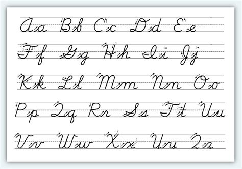 Cursive letter formation practice board. Weng Zaballa: Cursive Handwriting Practice Sheets