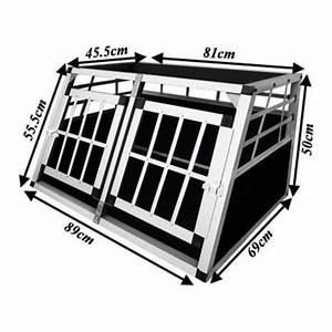 Cage Transport Chien Voiture : double cage de transport voiture pour chien taille s auto achat vente caisse de transport ~ Medecine-chirurgie-esthetiques.com Avis de Voitures