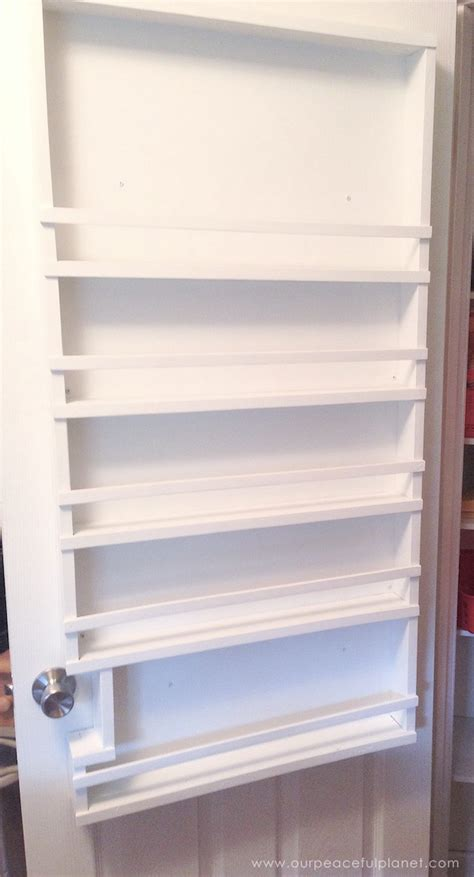 The Door Organizer For Pantry Build A Beautiful And Affordable Pantry Door Organizer