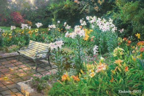 thomas kinkade original landscape oil painting eternal