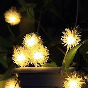 Led Lichterkette Draußen : innootech 20er led solar lichterkette garten kugel au en deco ~ Orissabook.com Haus und Dekorationen