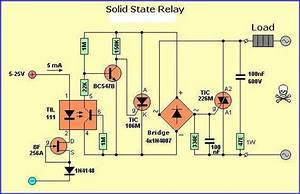 Solid State Relays Circuit With Til111