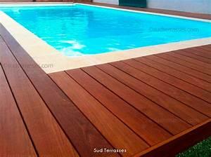 margelle piscine bois protection piscine bois idea mc With margelle piscine en bois
