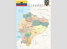 Mapa de Ecuador Mapa Ecuador