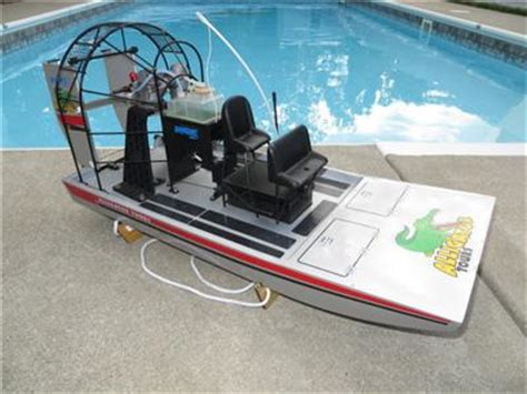 Rc Fan Boat Plans by Rc Boogie Board Airboat Plans Cimon