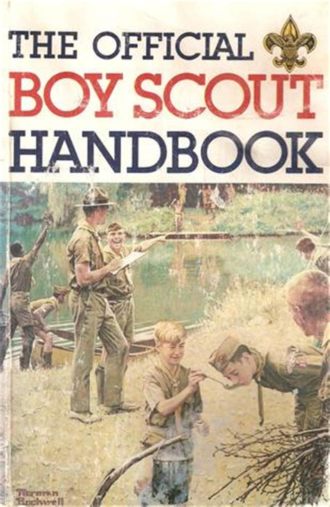 official boy scout handbook  william hillcourt