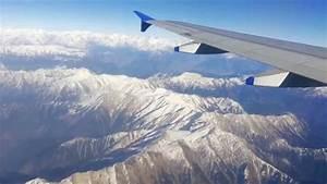 Aerial View Of Himalaya Mountian Range