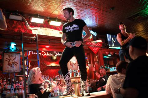 gay bar  part coyote ugly part reality tv fodder