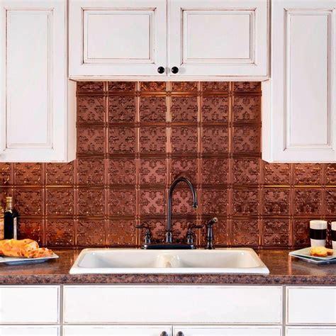 decorative backsplashes kitchens fasade 24 in x 18 in traditional 10 pvc decorative 3117