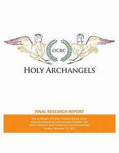 Ocrc comprehensive research report