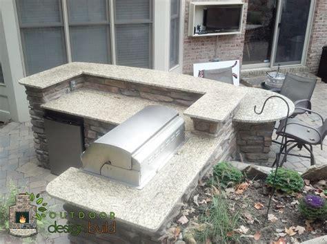 outdoor grilling cincinnati custom grill station installation
