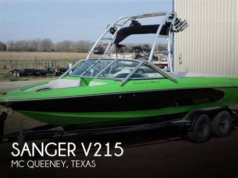 Are Sanger Boats Good by Sanger V215 2006 For Sale For 18 500 Boats From Usa