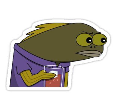 Spongebob Ton Meme - quot spongebob tom meme quot stickers by lucvdv redbubble