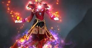 Lina Fiery Soul Of The Slayer Dota 2 Mods