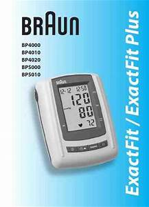 Braun Bp 4020 Blood Pressure Monitor Download Manual For
