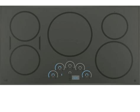 chpsjss ge cafe series  built  touch control induction cooktop gray