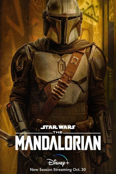 The Mandalorian gets four season 2 character posters