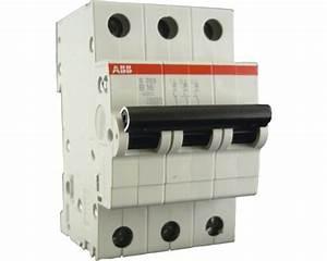 Sicherungsautomat 35 Ampere : sicherungsautomat 16a 3 polig b abb s203 b16 bei hornbach ~ Jslefanu.com Haus und Dekorationen