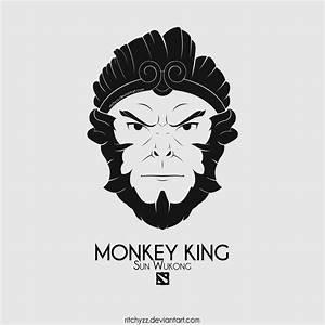 Logo Sun Wukong Monkey King Dota 2 By Ritchyzz On DeviantArt