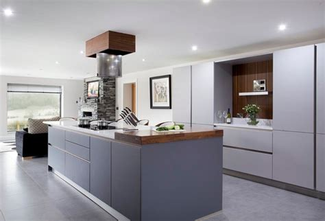 Walnut & Grey   Contemporary   Kitchen   by The Design Yard