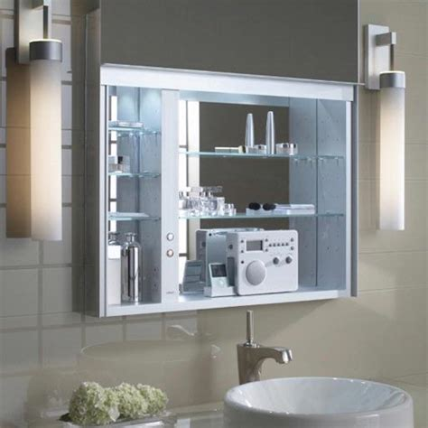 Robern Bathroom Mirrors by Robern Uplift 30 Bath Medicine Cabinet From Home