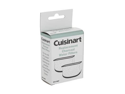 The cuisinart coffee machines allow you to personalize your coffee by adjusting the coffee strength. Cuisinart Dcc Rwf Replacement Coffee Maker Water Filters ...