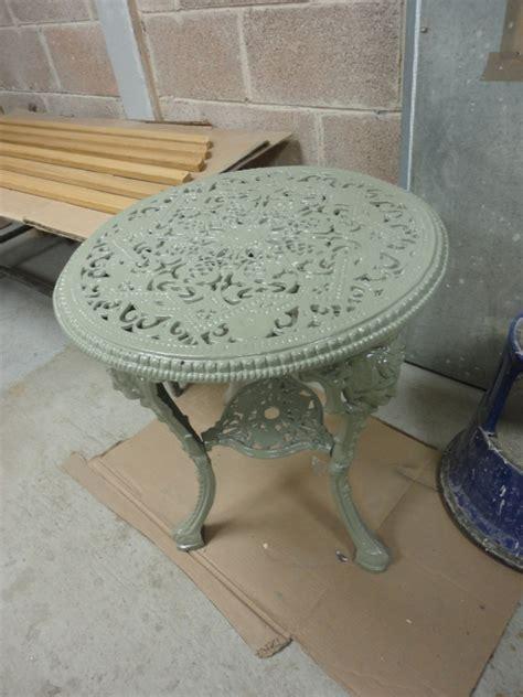 cast iron garden table ironart of bath