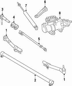 Steering Gear  U0026 Linkage For 2008 Ford F