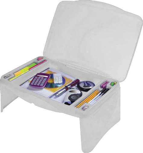 kids portable folding lap desk laptop table box w storage