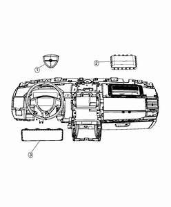 2015 Dodge Grand Caravan Kneeblocker  Steering Column