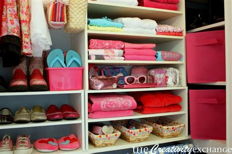 tips and tricks for organizing a closet and a printable