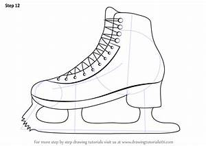 Learn How to Draw Ice Skates (Other Sports) Step by Step ...